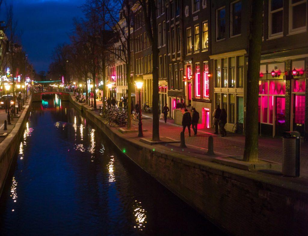 Red light district Amsterdam Ruysdaelkade