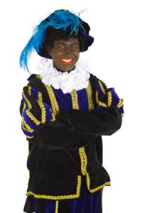Zwarte Piet photo of a traditional Zwarte Piet