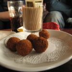 Bitterballen popular Dutch deep fried snack