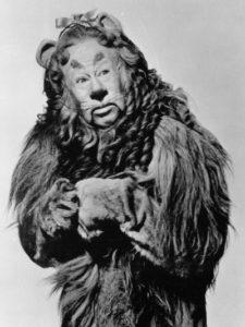 The original cowardly Lion