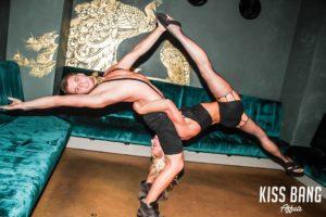 Pilates kiss bang affair style