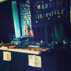 Joyce Mercedes DJ morning gloryville