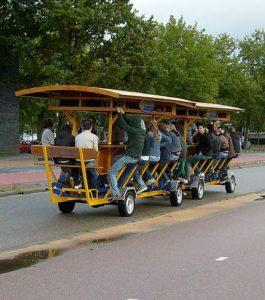 Dutch people hate beer bikes