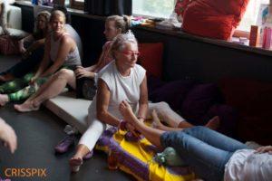 Foot massage Amsterdam morning gloryville