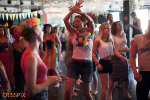Morning gloryville people dancing