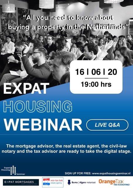 expat housing seminar webinar June 16 2020