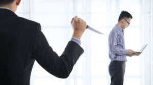 backstabbers in Dutch office life