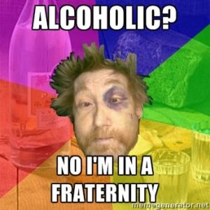 alcoholic dutch fraternity man