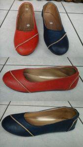 Dutch fashion hell flat shoes