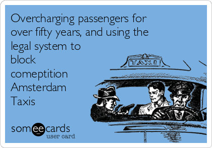 Why Amsterdam Taxis are the Best in the World!