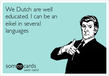 Five Differences Between British and Dutch Men