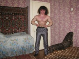 Macho Russian man
