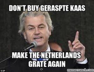 The ultimate hypocrite Geert Wilders