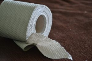 Picture of a toilet roll representing Mark Rutte's letter to all Nederlanders