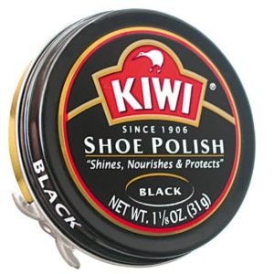 shoe polish for Zwarte Piet