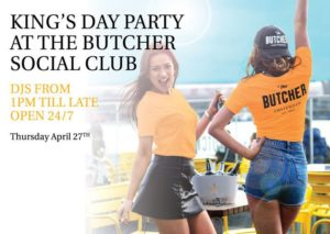 King's Day Party At The Butcher Social Club
