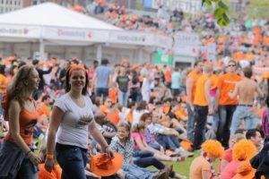King's Day in Amsterdam 2017