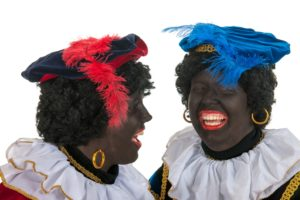 two zwarte piets to stop tourists visiting Amsterdam
