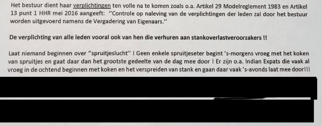 indian expat in Amstelveen letter
