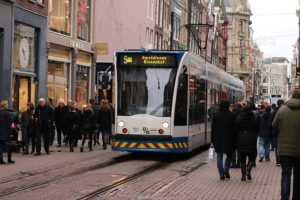 one of the great things about life in the Netherlands trams