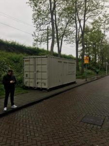 amsterdam airbnb scam a container hired out as a room