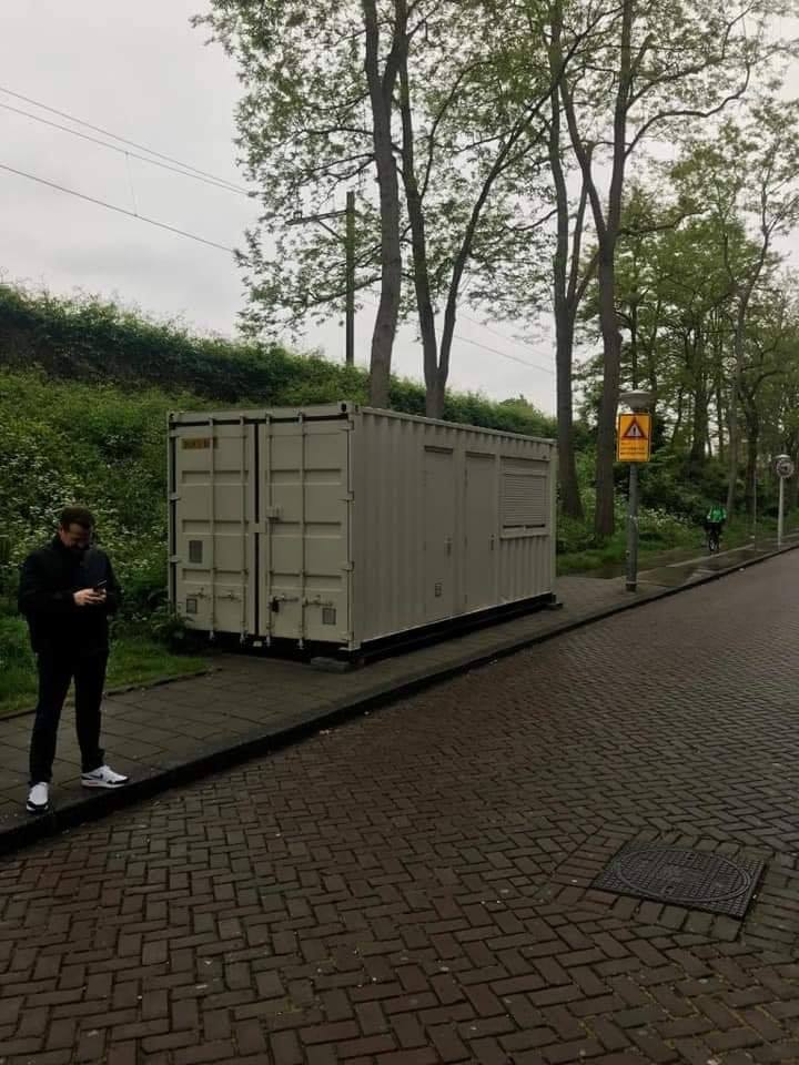 Sea Container Hired Out As A Room in Amsterdam AirBnb Scam