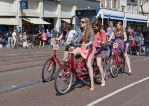 tourists on macbikes