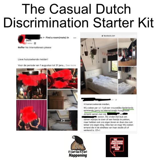starter kit about dutch discrimination
