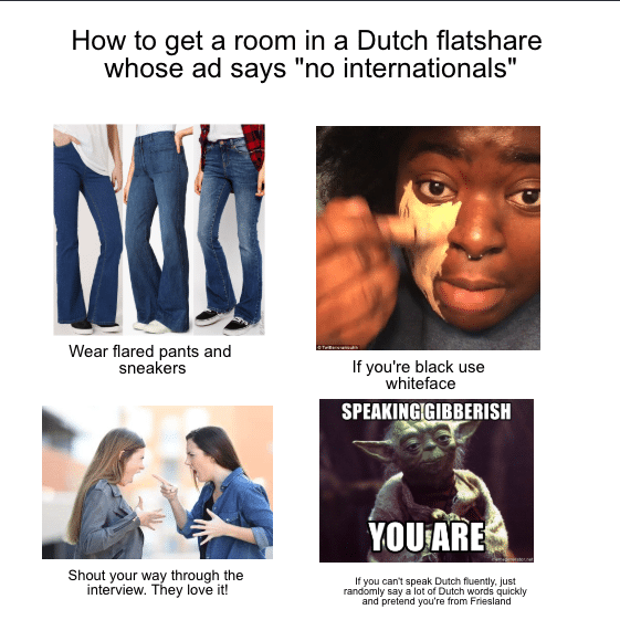 Finding a room in a Dutch flatshare