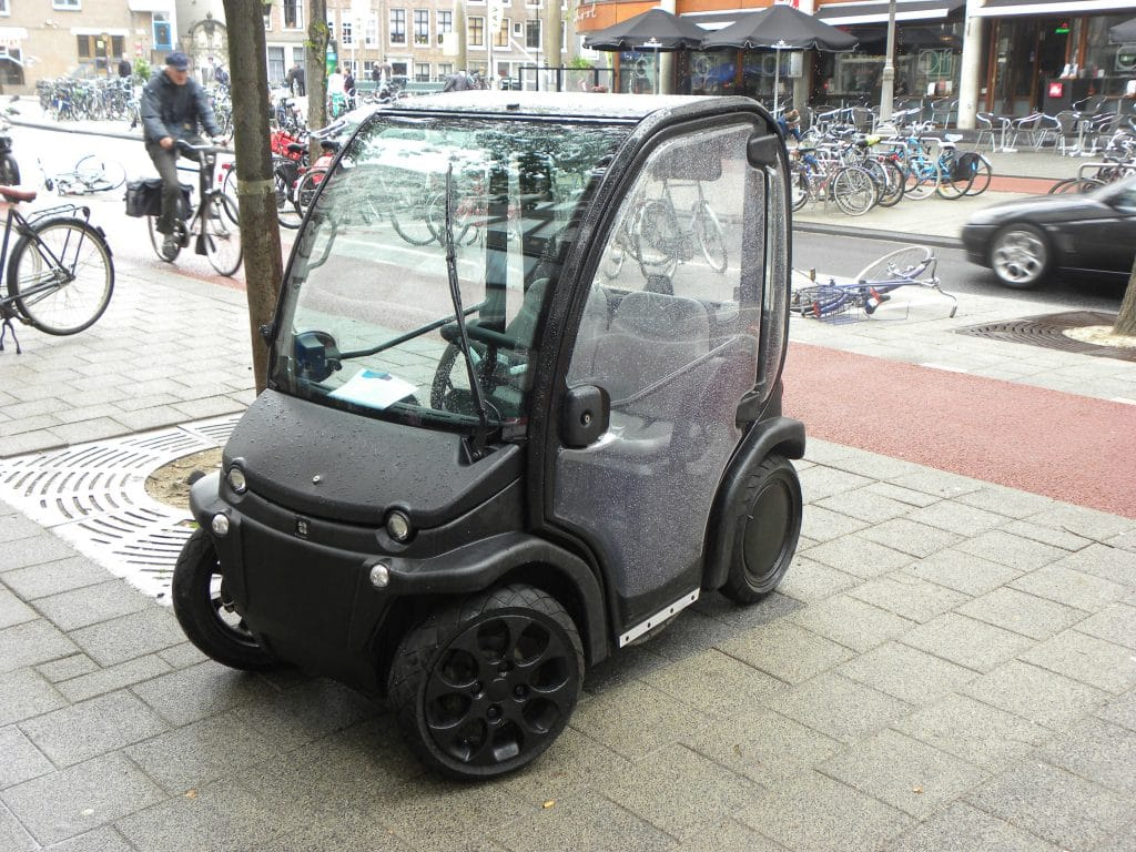 Amsterdam Introduces New Restrictions on the Biro Electric Car
