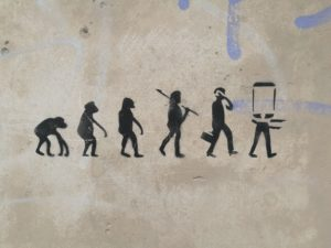 from caveman to smartphone