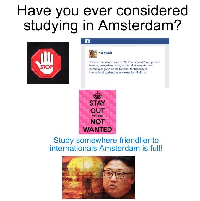 amsterdam is full meme
