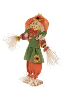 Dutch hair scarecrow look