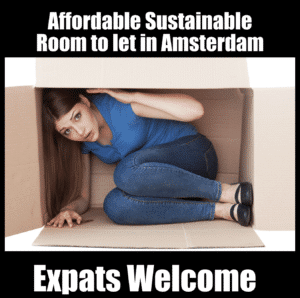 tiny room to rent in Amsterdam