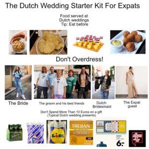 dutch wedding starter pack